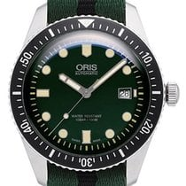 Oris Divers Sixty Five Steel 42mm Green