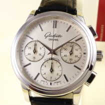 Glashütte Original Senator Chronograph Steel 39,3mm Silver