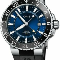 Oris Aquis GMT Date new Automatic Watch with original box and original papers 79877544135RS