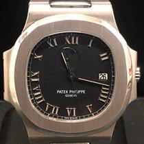 Patek Philippe Nautilus Steel 42mm Black Roman numerals
