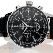 Vostok Stahl 43mm Chronograph neu