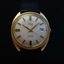 DuBois 1785 Yellow gold Automatic Silver 35mm pre-owned