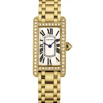 Cartier Tank Americaine Ladies' Watch 18K Yellow Gold...