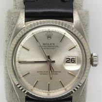 勞力士 (Rolex) Vintage 1601 Datejust 18k WG Good Condition Dial RARE