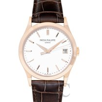 Patek Philippe Calatrava Rose gold 38mm White