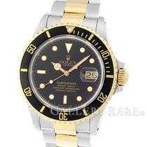 """롤렉스 (Rolex) Submariner Date Yellow Gold Steel 40MM """"9M..."""