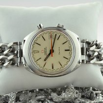Omega chronostop cream dial