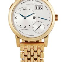 A. Lange & Söhne | A Yellow Gold Wristwatch With Date,...