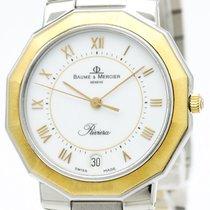 ボーム&メルシエ (Baume & Mercier) Polished  Riviera 18k Gold...
