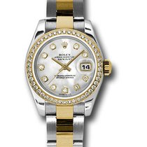 Rolex Lady-Datejust nuevo 2017 Automático Reloj con estuche y documentos originales 179383