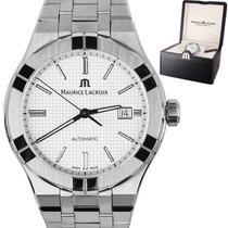 Maurice Lacroix 42mm Automatic pre-owned AIKON Silver