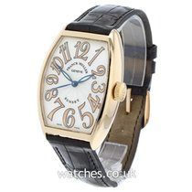 Franck Muller Cintrée Curvex pre-owned 32mm Yellow gold