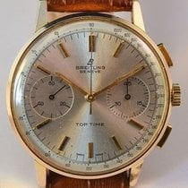 Breitling Top Time pre-owned 35.1mm Gold/Steel