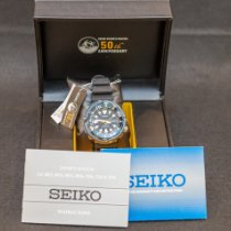 Seiko Steel 50mm Automatic SRP653K1 new