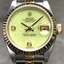 Rolex Lady-Datejust Сталь 26mm Зелёный