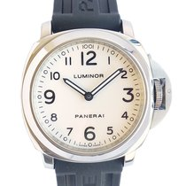Panerai Luminor Base Steel 44mm White Arabic numerals United Kingdom, Westhoughton