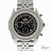 Breitling Bentley Motors tweedehands 48.7mm Zwart Chronograaf Datum Staal