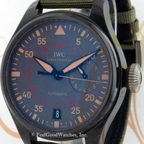 IWC Big Pilot Top Gun Miramar 42mm Zwart Arabisch
