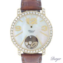Chopard Happy Diamonds 207449 Very good Yellow gold 40mm Quartz