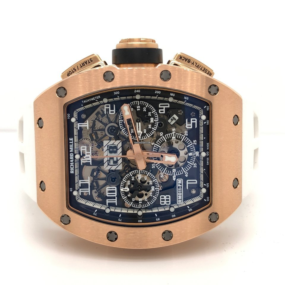 Richard Mille RM011 FELIPE MASSA Rose Gold Boutique Edition RM11 for Price  on request for sale from a Trusted Seller on Chrono24