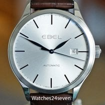 Ebel 100 Steel 40mm Silver United States of America, Missouri, Chesterfield