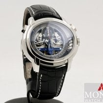 Audemars Piguet Millenary Chronograph Platino 47mm Transparente Sin cifras