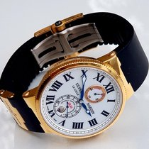 Ulysse Nardin Marine Chronometer 43mm Rose gold White Roman numerals