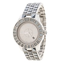 Dior Steel Quartz Dior Silver Grey Stainless Steel Christal CD113113 pre-owned