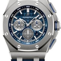 Audemars Piguet Titanium Automatic Blue No numerals 42mm new Royal Oak Offshore