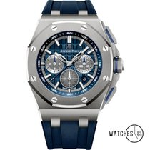 Audemars Piguet Royal Oak Offshore Chronograph Titanium 42mm Blue No numerals United States of America, New York, New York