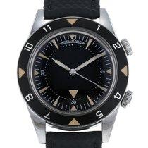 Jaeger-LeCoultre Memovox Tribute to Deep Sea Steel 40.5mm Black No numerals