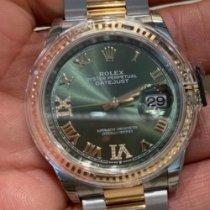Rolex Datejust nuevo 2019 Automático Reloj con estuche y documentos originales 126233