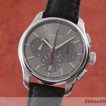 Union Glashütte Belisar Chronograph Steel 43.5mm Grey