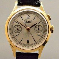 Bovet Geelgoud 37,5mm Handopwind Bovet monopusher chronograph tweedehands Nederland, Maastricht