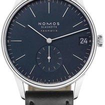 NOMOS Orion Neomatik Steel 40.5mm Blue Arabic numerals