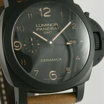 Panerai Luminor 1950 3 Days GMT Automatic Cerâmica 44mm Preto