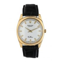 Rolex Cellini Danaos Yellow gold 38mm White United States of America, New York, New York