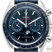 Omega Speedmaster Professional Moonwatch Moonphase Stahl 44mm Blau Deutschland, Stuttgart