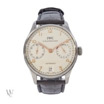 IWC IW500114 Steel 2014 Portuguese Automatic 42.3mm pre-owned