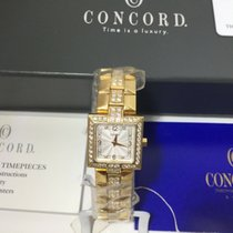 Concord La Scala Yellow gold 28mm Silver Arabic numerals United States of America, Georgia, Dunwoody