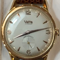 Wyler Vetta Rose gold 37/39mm Manual winding 2820 pre-owned