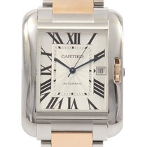 Cartier Tank Anglaise 36mm Silver