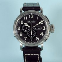 Zenith Pilot Type 20 Annual Calendar Steel 48mm Black Arabic numerals