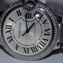 Cartier Ballon Bleu Midsize 33mm Diamonds Automatic