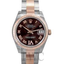 Rolex Lady-Datejust Brun