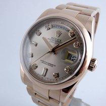 Rolex Day Date  -  Rosegold Diamond Dial  - Mint -