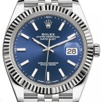 Rolex Datejust Steel 41mm Blue No numerals United States of America, Florida, Hollywood