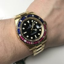 Rolex GMT Master II with Sapphire and Diamond
