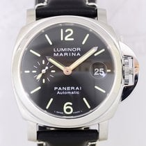 Panerai Luminor Marina PAM 00048 Edelstahl black dial rar...