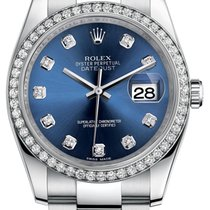 Rolex Datejust 36 mm Custom Diamonds